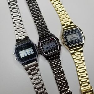 Vintage style digital watch lot